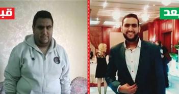 Mahmoud Sayed lost 33 kilos