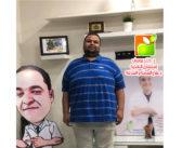 البطل / ابراهيم بيومى خس ٤٠ كجم